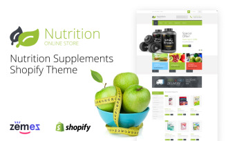 Nutrition Supplements Shopify Theme