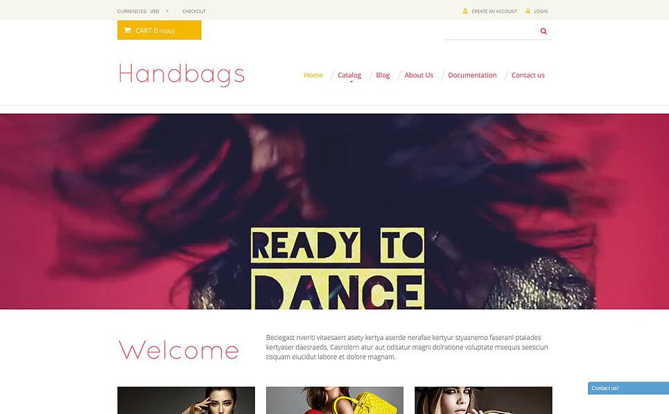 Responsive Shopify Thema over Handtas  New Screenshots BIG