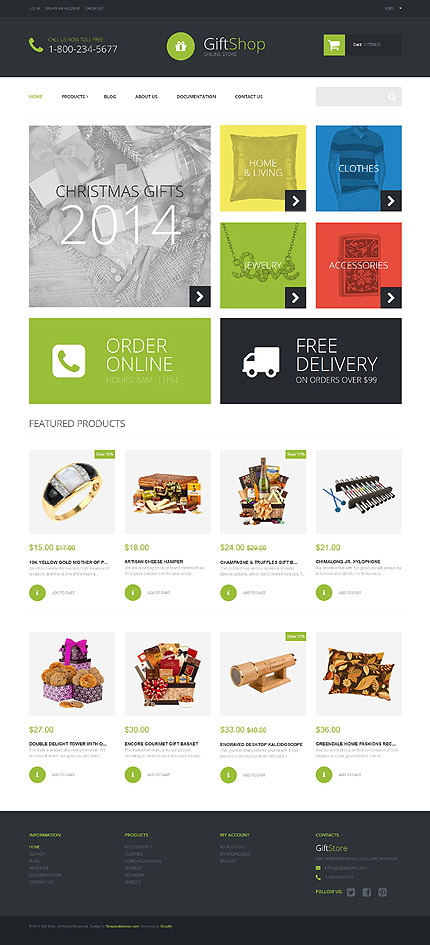 ADOBE Photoshop Template 52257 Home Page Screenshot