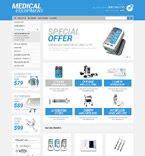 Medical OpenCart  Template 52261
