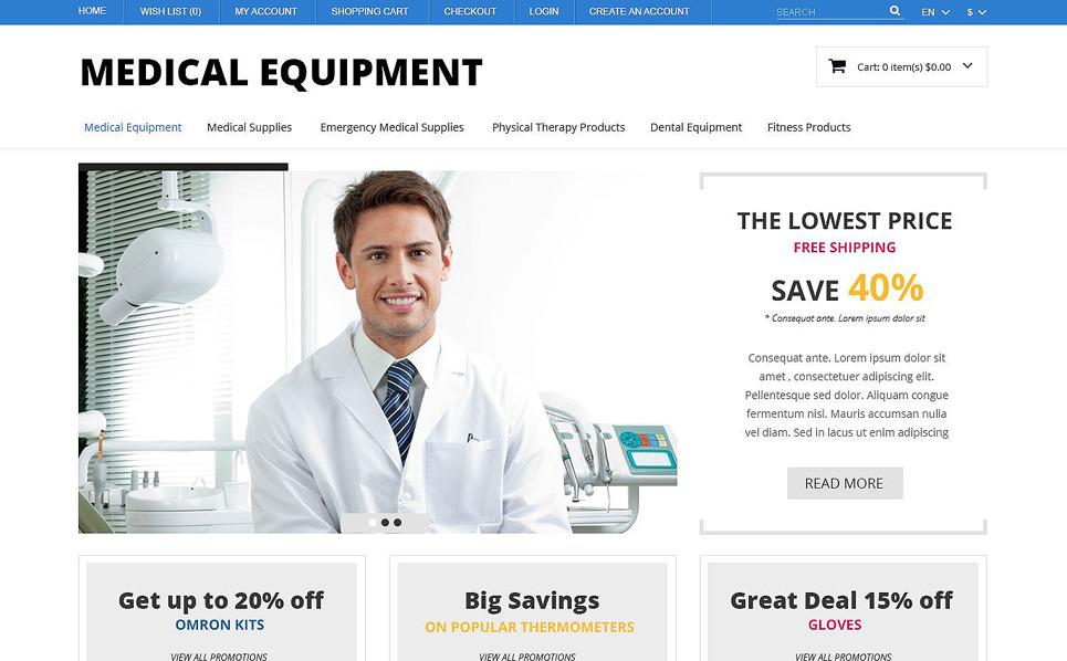 Responsive OpenCart Template over Medische Apparatuur New Screenshots BIG