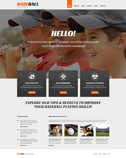 WordPress Theme/Template 52269 Main Page Screenshot