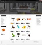 Furniture osCommerce  Template 52275
