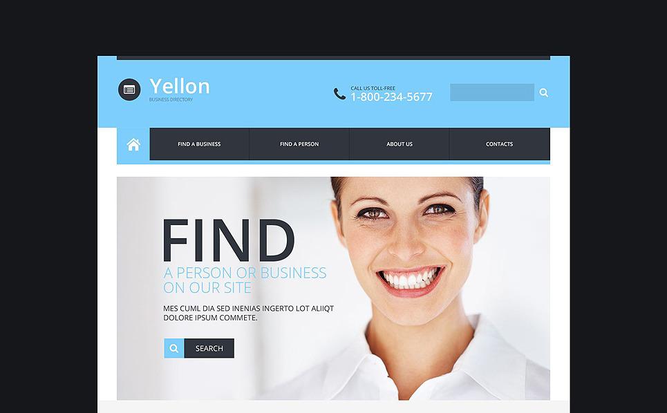Template Web Flexível para Sites de Business & Services №52280 New Screenshots BIG
