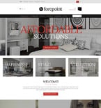 Furniture OpenCart  Template 52285