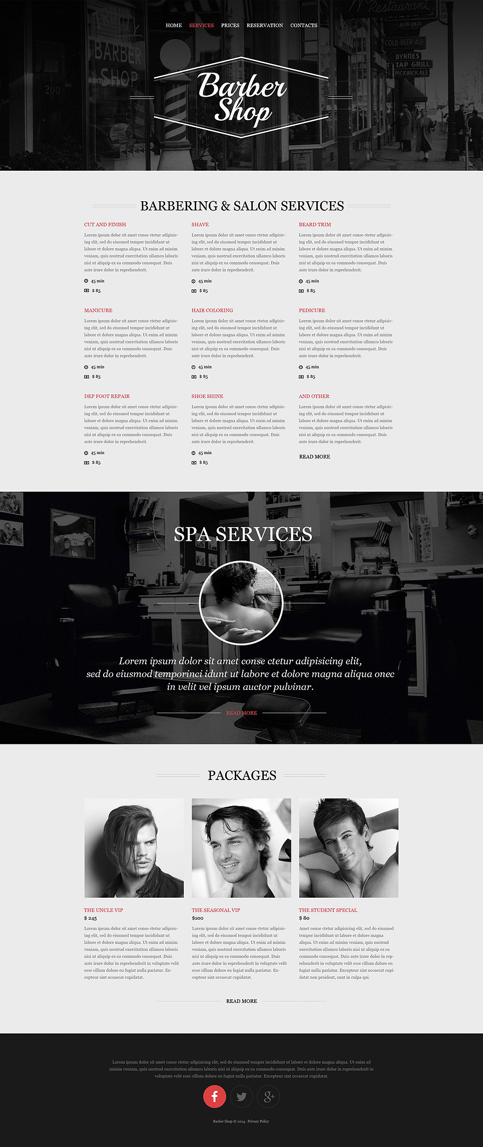 hair salon responsive website template 52290 by wt website templates. Black Bedroom Furniture Sets. Home Design Ideas