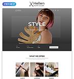 Beauty Website  Template 52290