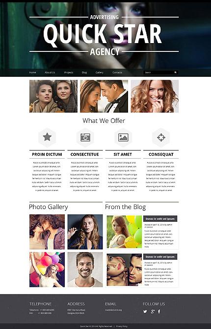 Drupal Template 52296 Main Page Screenshot
