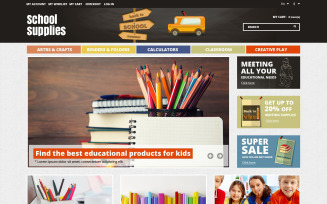 School Essentials Magento Theme