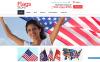 Адаптивний Shopify шаблон на тему політики New Screenshots BIG