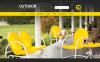 Адаптивный PrestaShop шаблон №52247 на тему мебель New Screenshots BIG