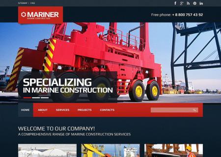 Construction Company Responsive