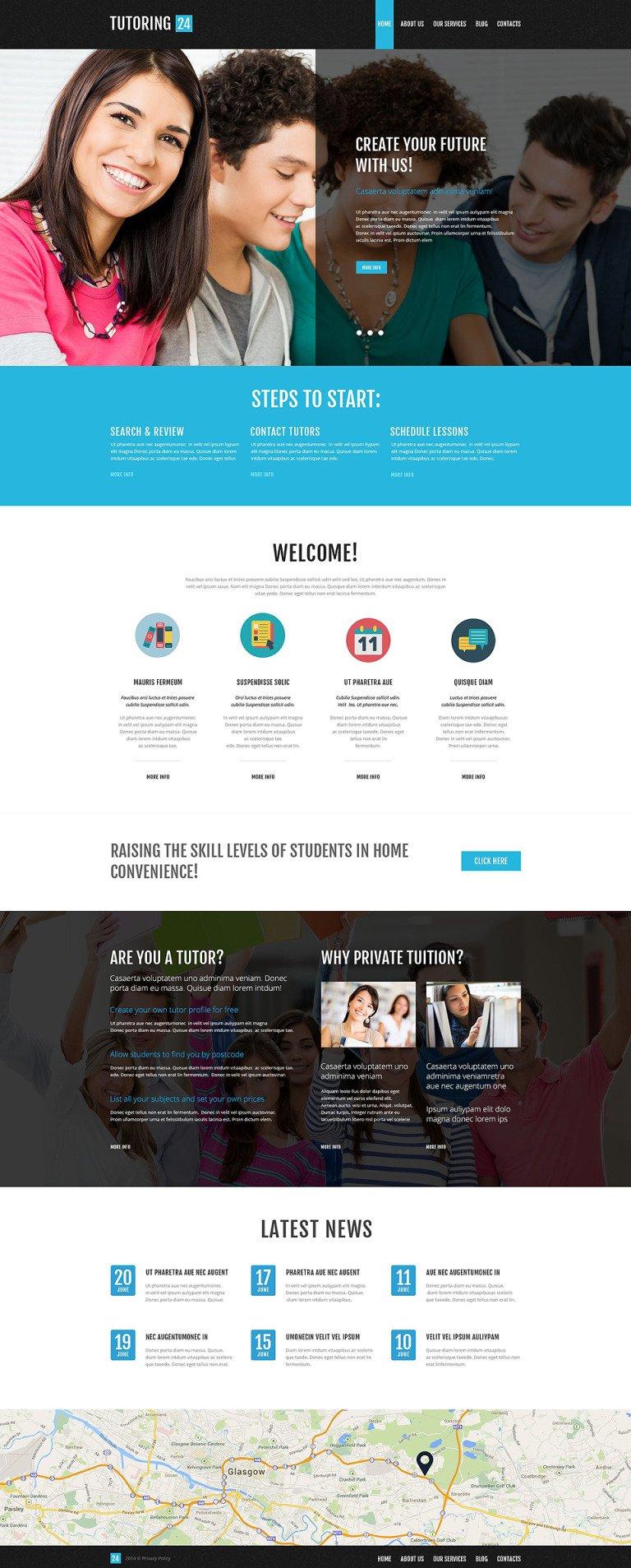 Education Online WordPress Theme New Screenshots BIG