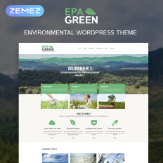 Best Premium Environmental WordPress Themes TemplateMonster - Website templates wordpress