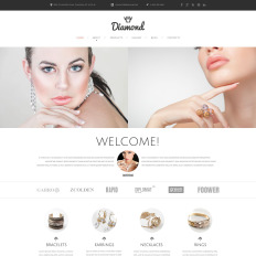 23 best jewelry website templates 2018