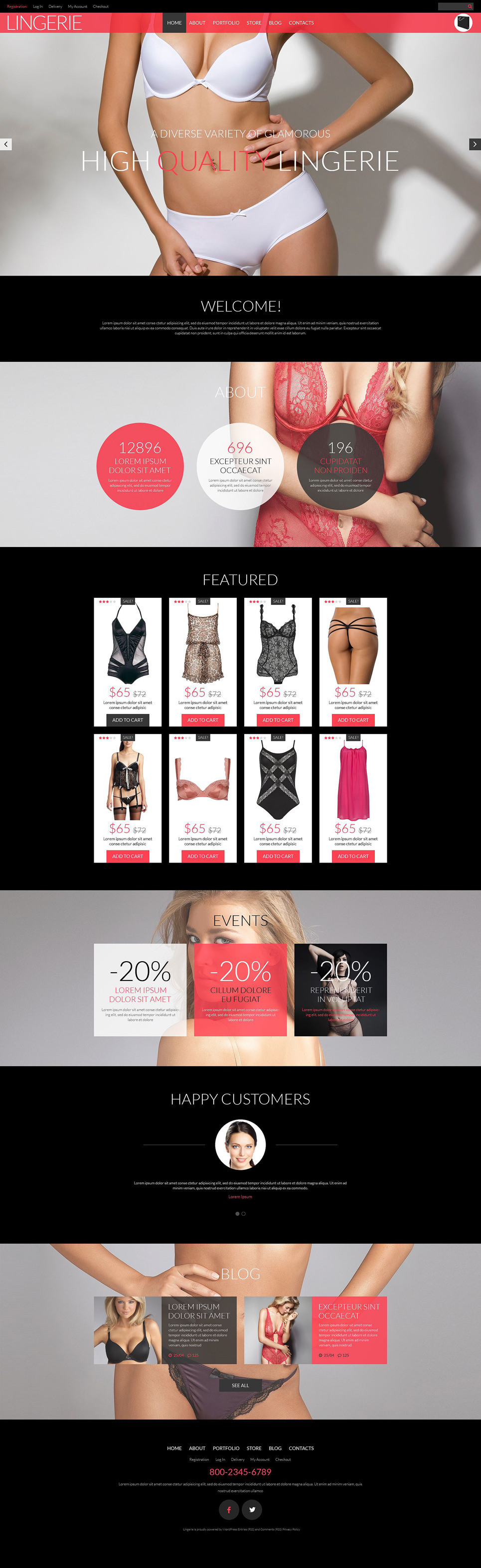 Lingerie Shop WooCommerce Theme New Screenshots BIG
