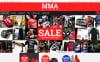 """MMA Clothes and Gear"" Responsive Magento Thema New Screenshots BIG"