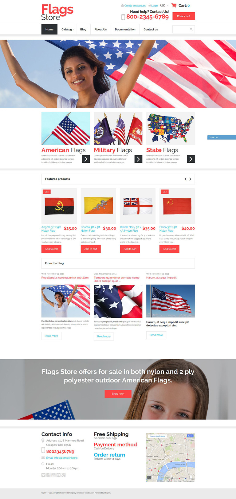 National Flags Shopify Theme New Screenshots BIG