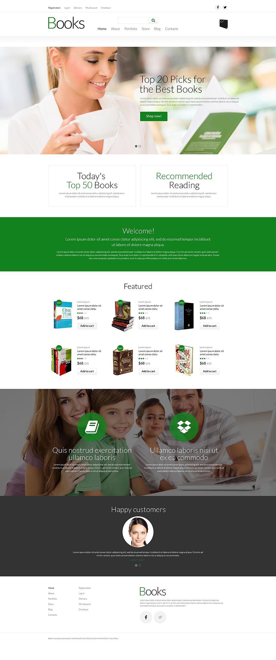 Paperback Book Store WooCommerce Theme New Screenshots BIG
