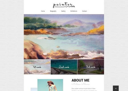 Personal Page Responsive