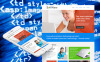 Premium Moto CMS HTML Template over Softwarebedrijf  New Screenshots BIG