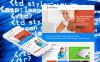 Prémium Szoftverfejlesztő cégek  Moto CMS HTML sablon New Screenshots BIG