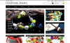 "PrestaShop Theme namens ""Handmade Ornaments"" New Screenshots BIG"