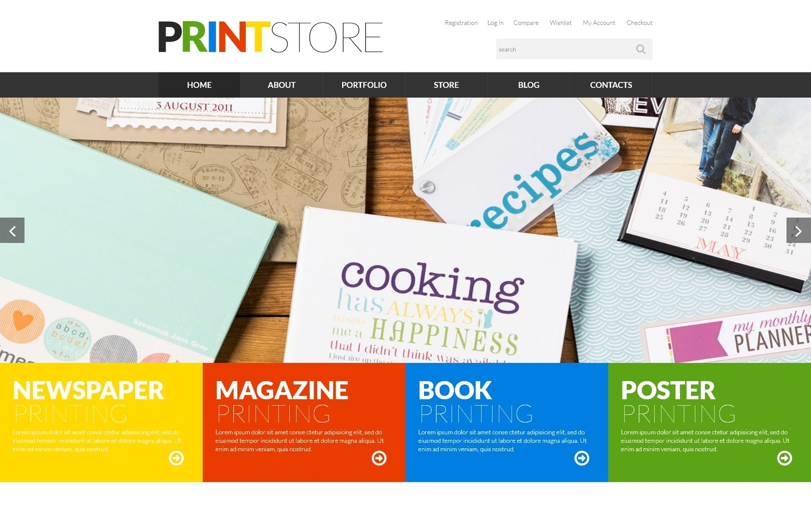 Print Production WooCommerce Theme