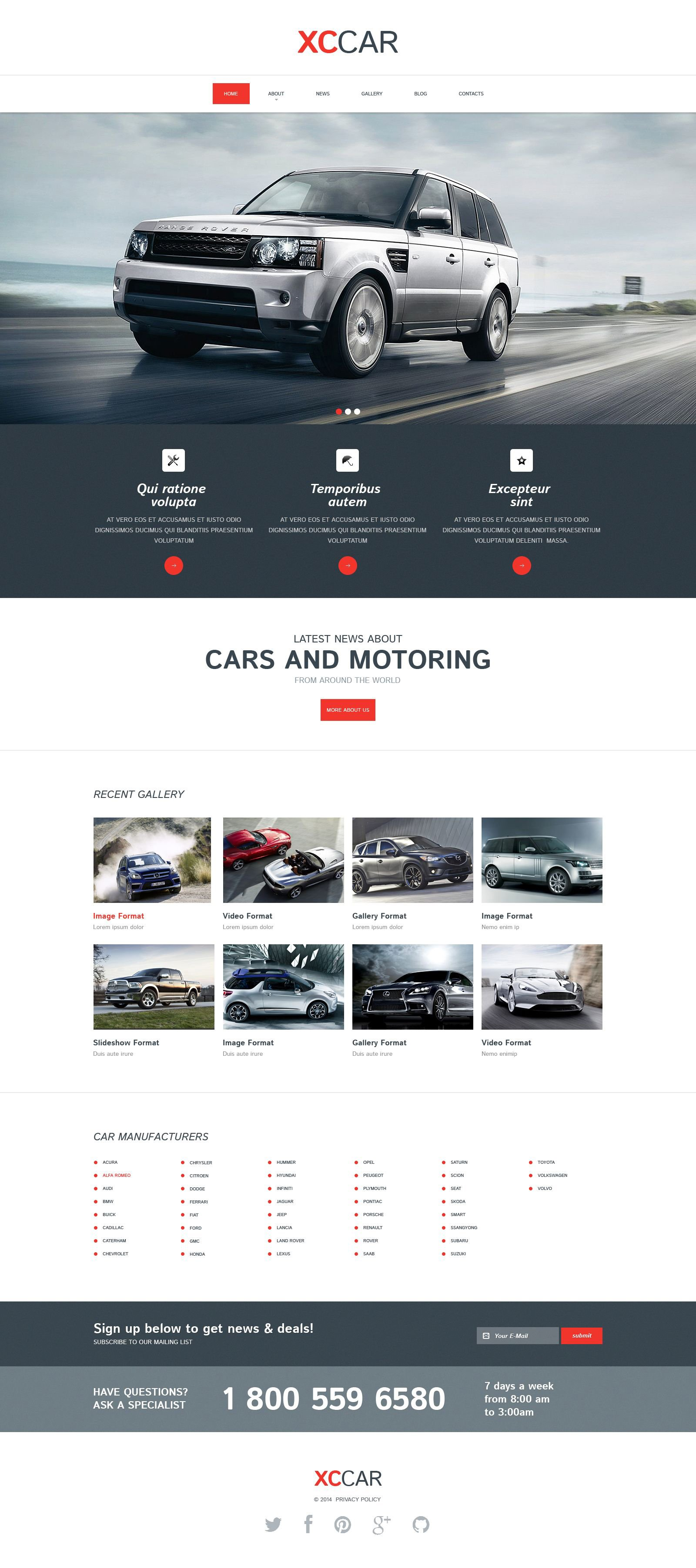 Responsive Drupal Vorlage für Automobilclub #52297