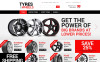 Responsive Wheels and Tyres Magento Teması New Screenshots BIG