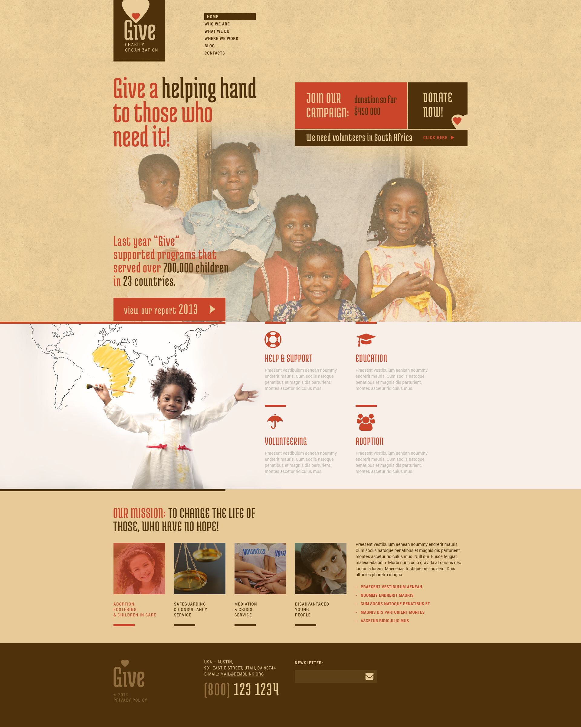 Responsywny motyw WordPress Power of Hope Community #52265