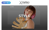 Responsywny szablon strony www Hellen - Hair Salon Classic Multipage HTML5 #52290
