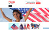 Reszponzív Politika témakörű  Shopify sablon New Screenshots BIG