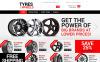 Reszponzív Wheels and Tyres Magento sablon New Screenshots BIG