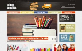 School Essentials Magento Theme