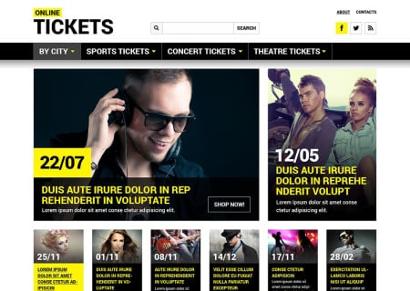 Tickets  Responsive