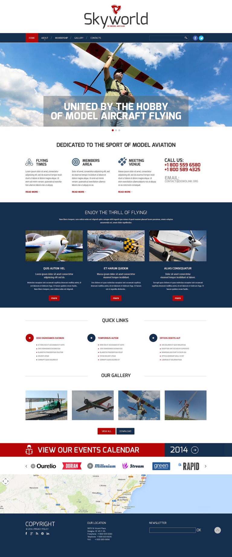 Toy Store Responsive Website Template New Screenshots BIG