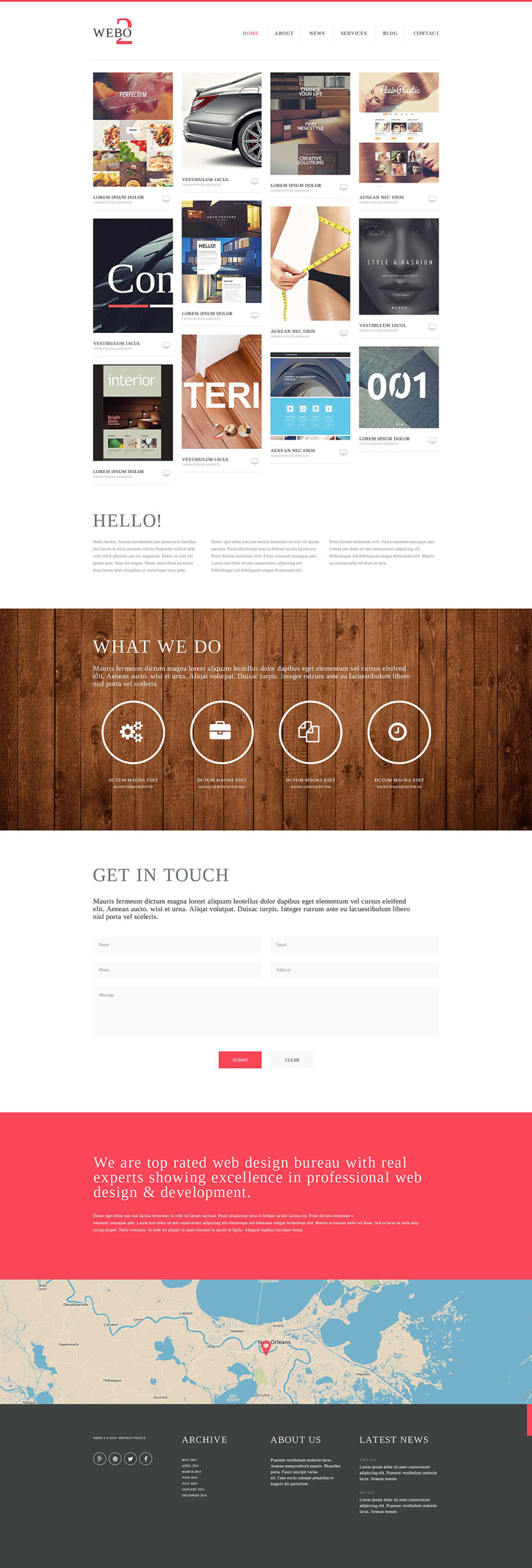 Web Studio Website Template New Screenshots BIG