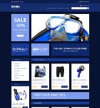 Sport VirtueMart  Template 52301