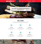 Cafe & Restaurant Muse  Template 52304