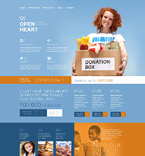 Charity Joomla  Template 52306