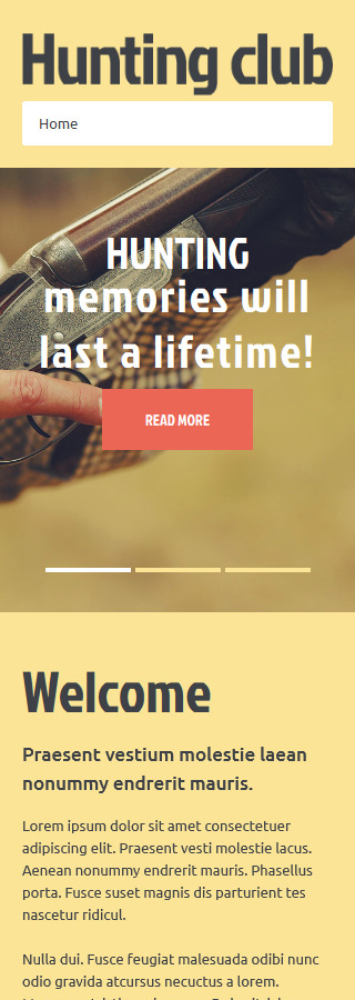 Joomla Theme/Template 52308 Main Page Screenshot