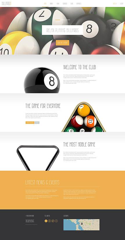 Joomla Theme/Template 52309 Main Page Screenshot