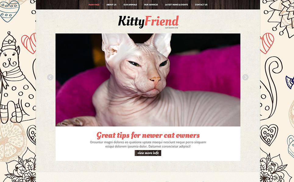Responsive Joomla Template over Katten New Screenshots BIG