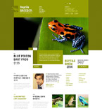 Animals & Pets Website  Template 52322