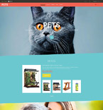 Animals & Pets VirtueMart  Template 52331
