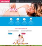 Medical Website  Template 52336