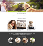 Animals & Pets Muse  Template 52338