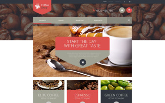 Coffee Store PrestaShop Theme