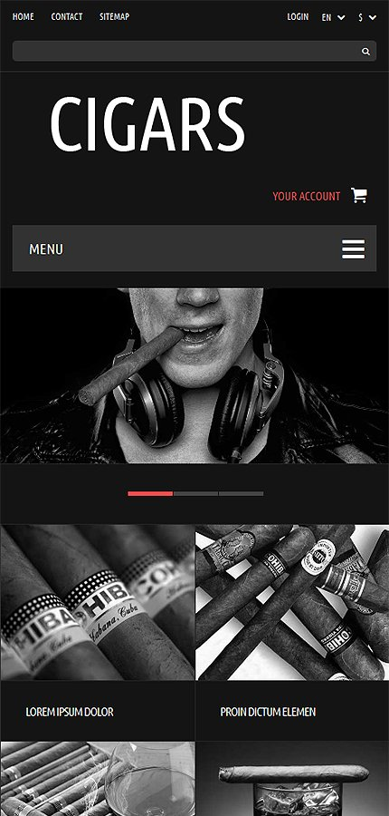 ADOBE Photoshop Template 52341 Home Page Screenshot